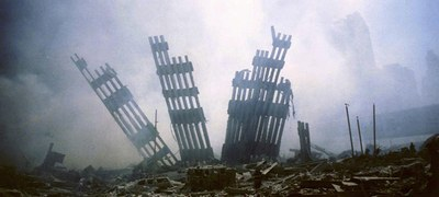 """Photo from the USA Today photo essay: """"20 years later, these are the 9/11 photos we will never forget."""""""