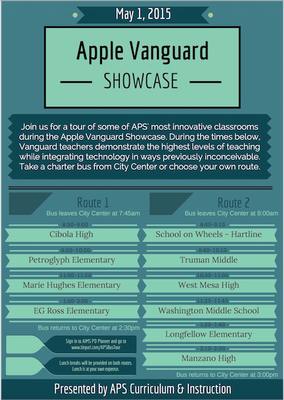 Apple Vanguard Showcase