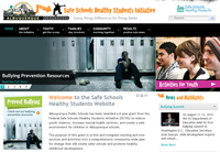Albuquerque Public Schools Unveils Website on Bullying, Violence Prevention