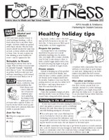 Teen Food and Fitness - December