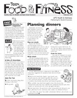 Teen Food and Fitness - February