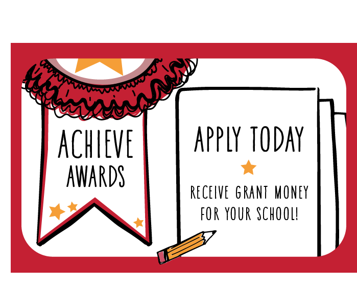 Apply today! Receive grant money for your school