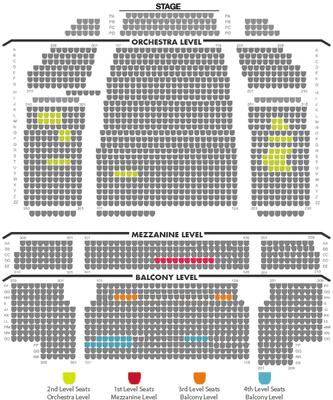 Lion King Seating 10 06