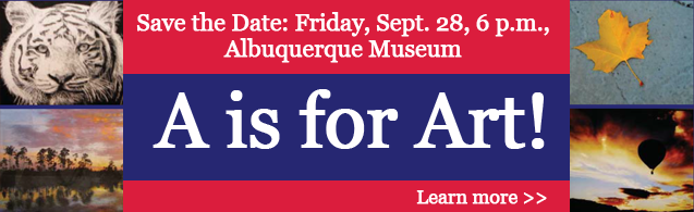 Save the Date for A is for Art 2012