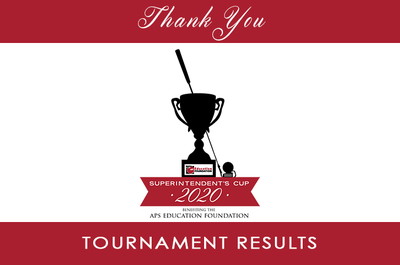 Superintendent's Cup 2020 Thank You Banner