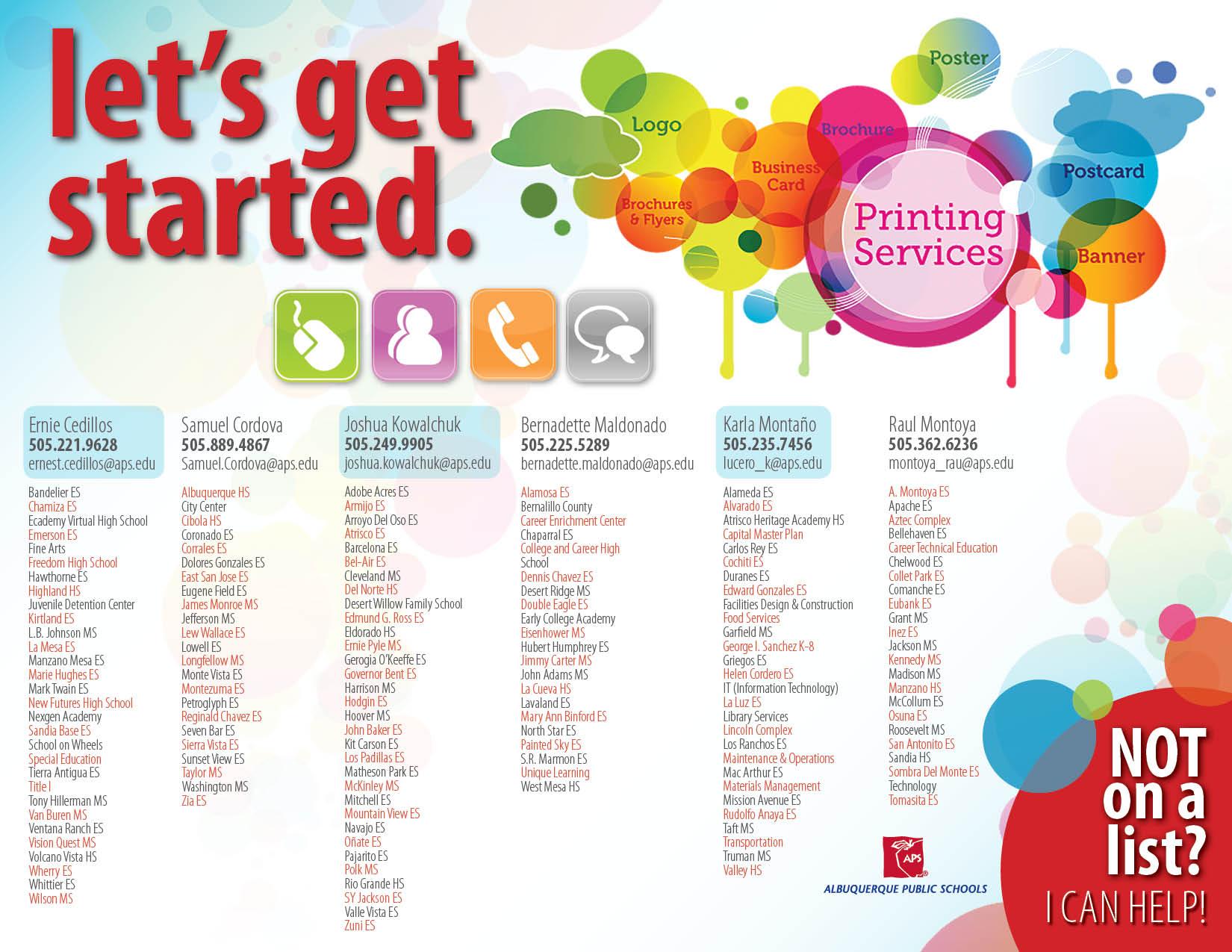 Let's Get Started Printable PDF