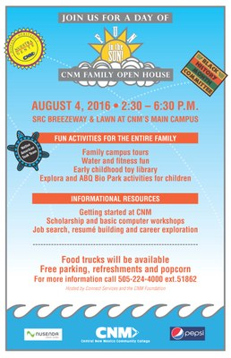 CNM Family Open House