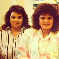 Darlene Saavedra and Liz Garcia-Lobato