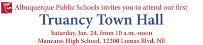 Truancy Town Hall words only
