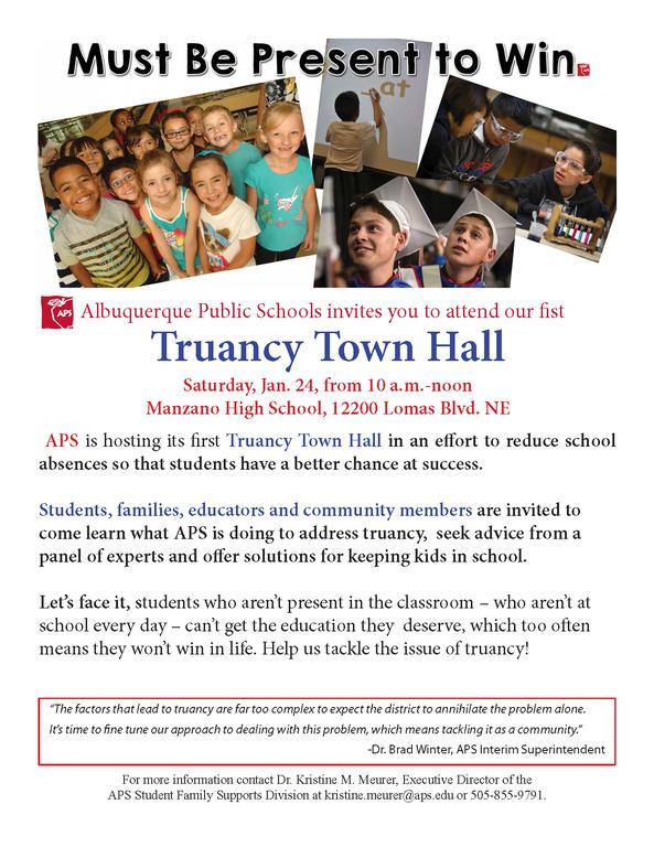 Truancy Town Hall