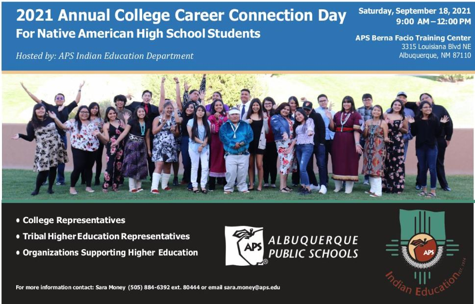 College Career Connection Day for Native American High School Students