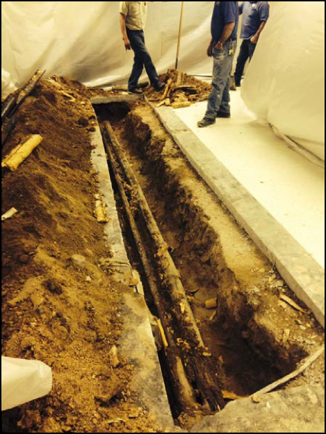 Heating pipe replacement
