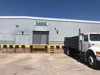 Materials Management Warehouse Entrance