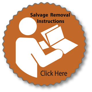 Salvage Removal Instructions