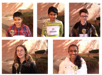Five APS Students Advance to State Spelling Bee