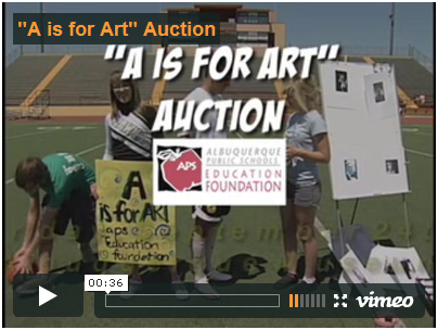 Click to watch the A is for Art video