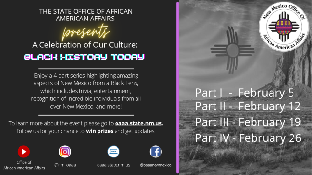 Office of African American Affairs: Celebration of our Cullture -Black History Today