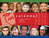 2014-15 wall calendar cover