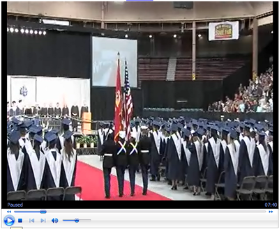 2011 La Cueva High School Graduation Ceremony