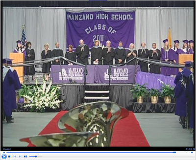 2011 Manzano High School Graduation Ceremony