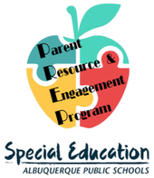 Special Education, Parent Resource and Engagement Program Logo