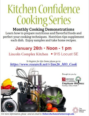 January 2018 - Cooking Class