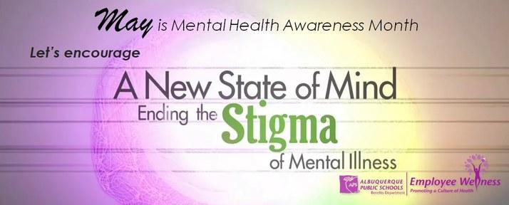 Release the stigma of mental health.