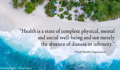 wellness quote from the world health organization.
