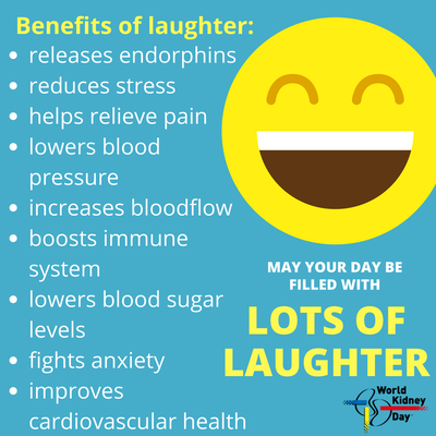 Humor is good for your health