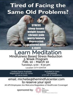 Mindfulness Based Stress Reduction 2015