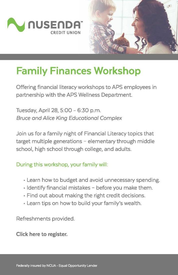 Family Finances 4-15