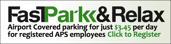Click to park for $3.45 at Airport FastPark