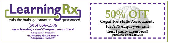 Learning Rx Employee Discount Ad