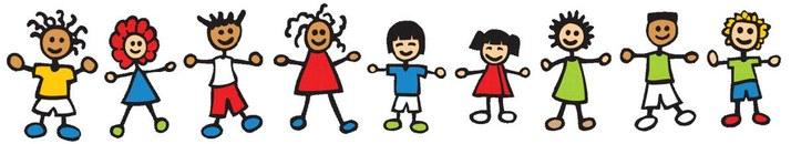 Stick Figures of Children