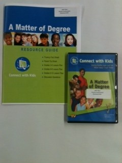 Connect with Kids A Matter of Degree
