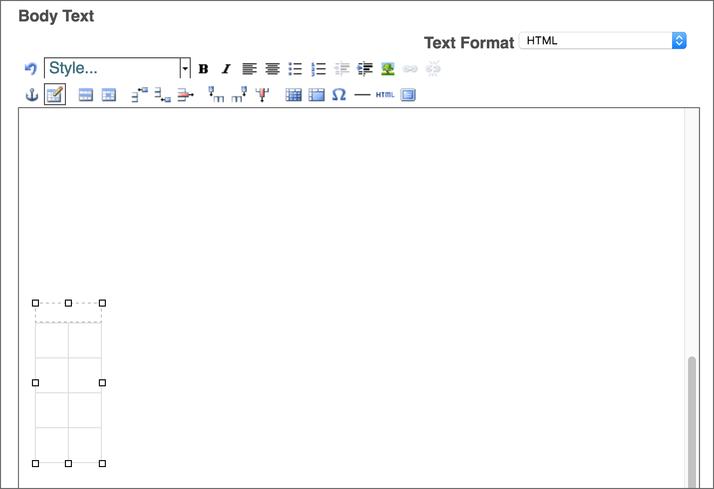 Plone Table Edit