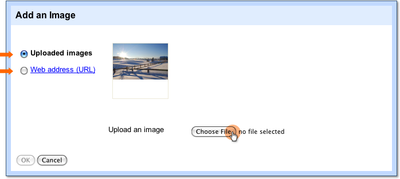 choose image file