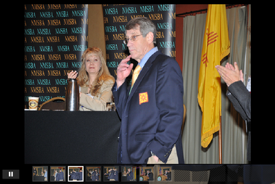 Click to view the slideshow of Dr. Peercy's ceremony.