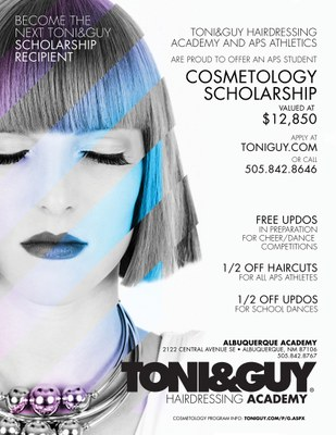 Toni&Guy Scholarship Flyer
