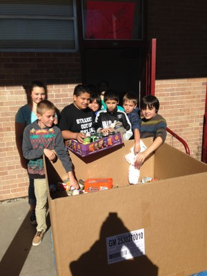 Hoover food drive 2015