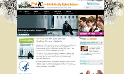 Safe Schools / Healthy Students Site