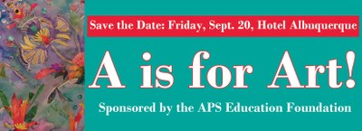 A is for Art! Save the Date 2013