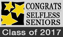 Congrats Selfless Seniors 2017