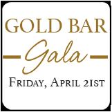Gold Bar Gala Button