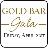 Gold Bar Gala Button