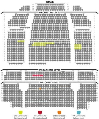 Lion King Seating 10 05
