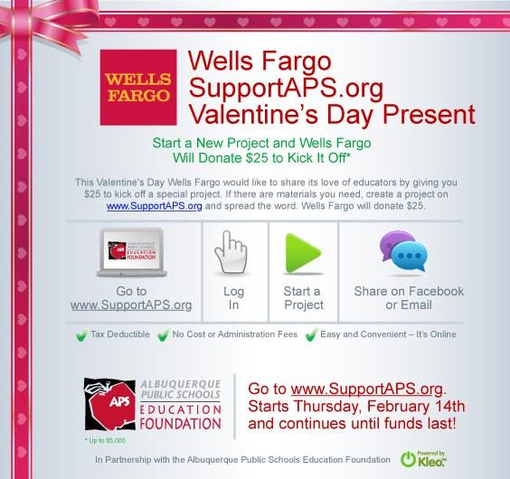 Wells Fargo for VD