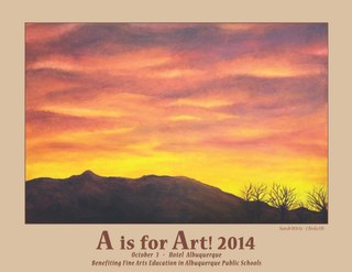 A is for Art Poster
