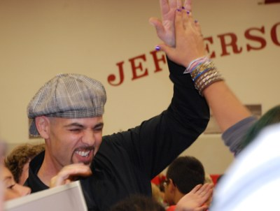 Mr. Janov reacts to the news.