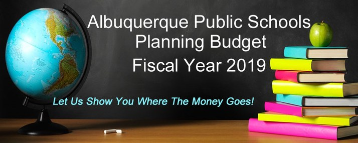 APS Planning Budget Fiscal Year 2019: Let us show you where the money goes!